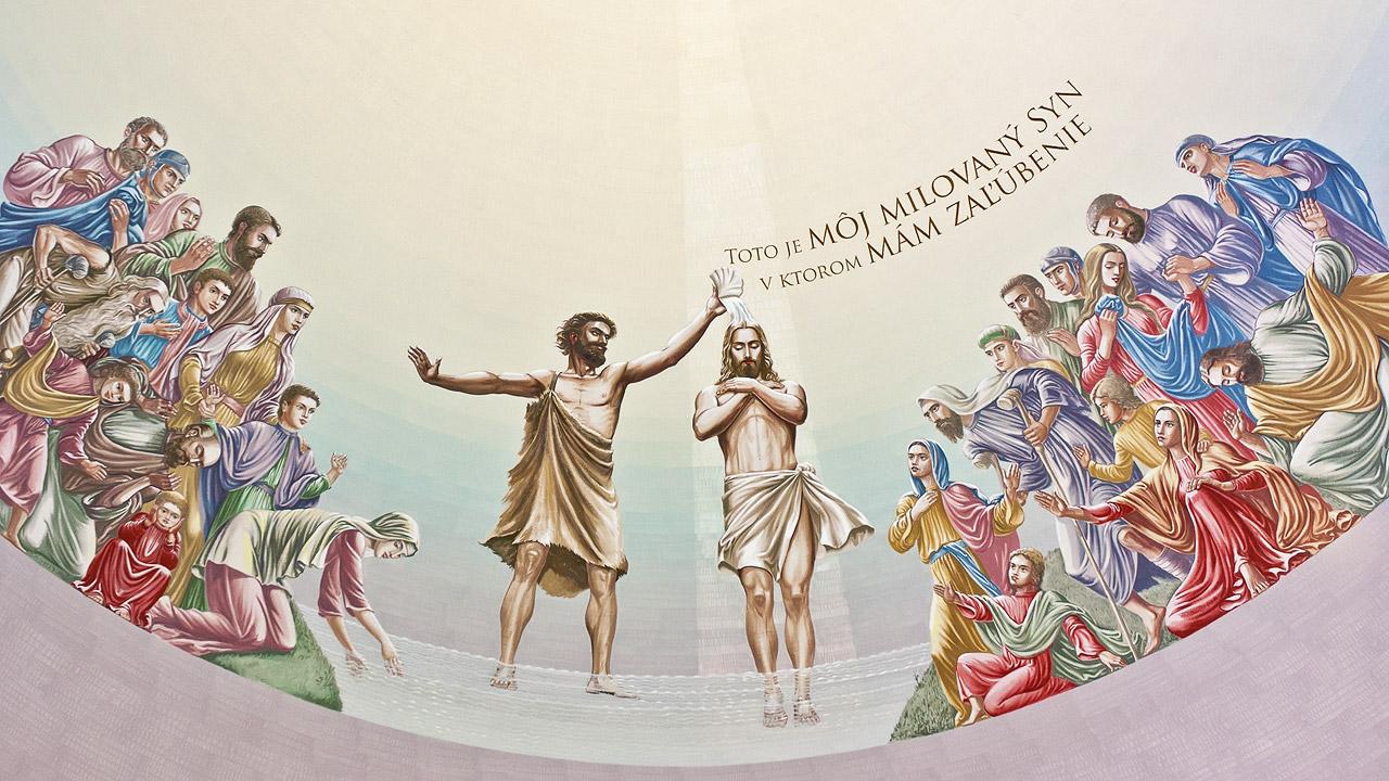 Vysoká nad Kysucou – krst Krista