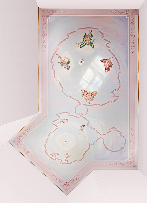 Salón múz – strop